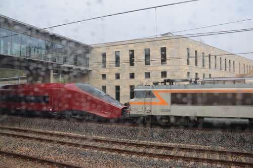 Gare de Besançon France-Comté TGV