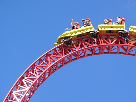 Roller Coaster rouge