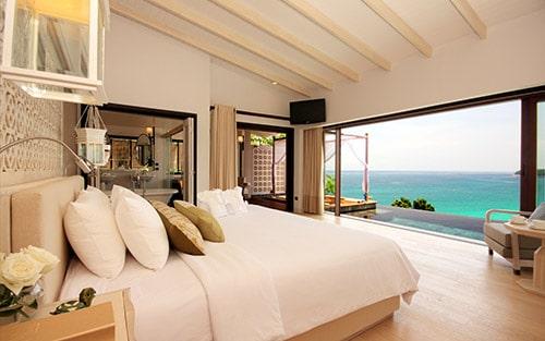 Hotel de luxe - Chambre avec vue sur la mer