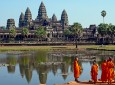 Angkor Vat - Moines
