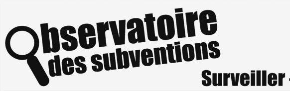 Affiche observatoire subvention