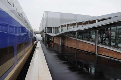 Gare de Belfort-Monbéliard Franche-Comté TGV