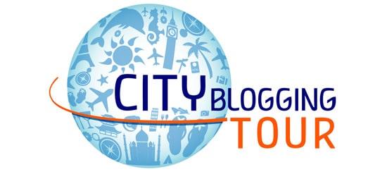City blogging tour logo
