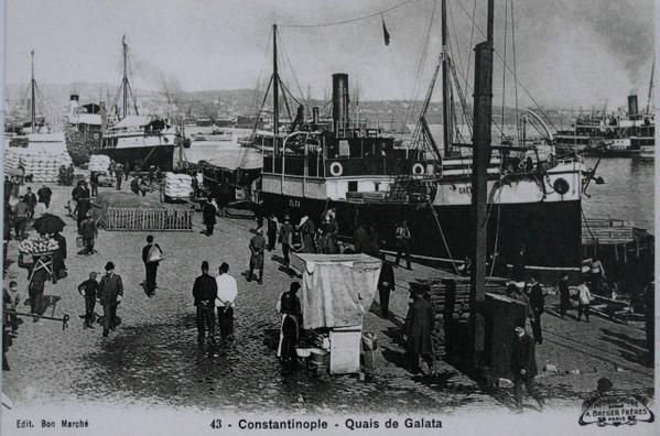 Contantinople - Quai de Galata