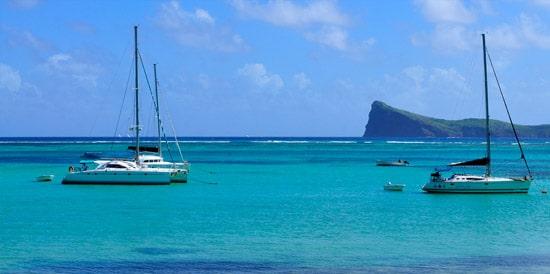 L'ile Maurice - bateau