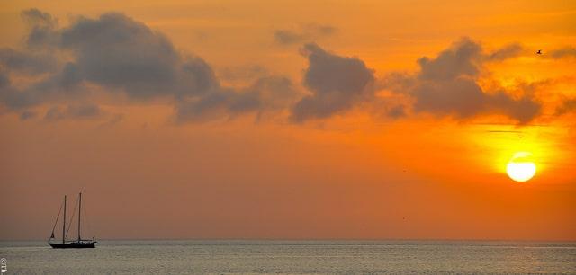 Indonesie - Coucher de Soleil