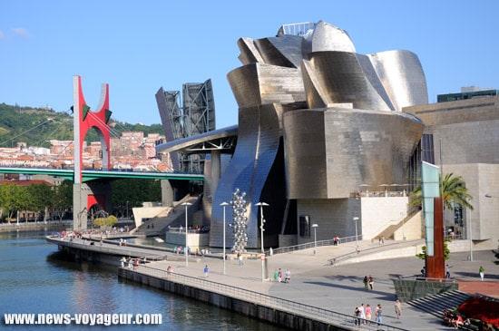 Bilbao - Musée Guggenheim pont
