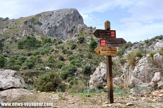 Ile de Majorque - Trek panneau