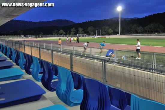 Majorque - Piste d'athlétisme