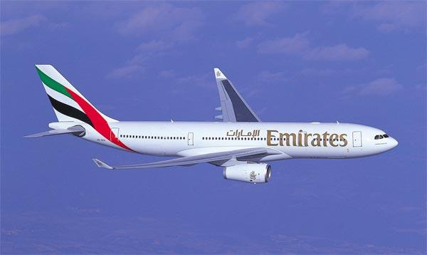 Avion Fly Emirates