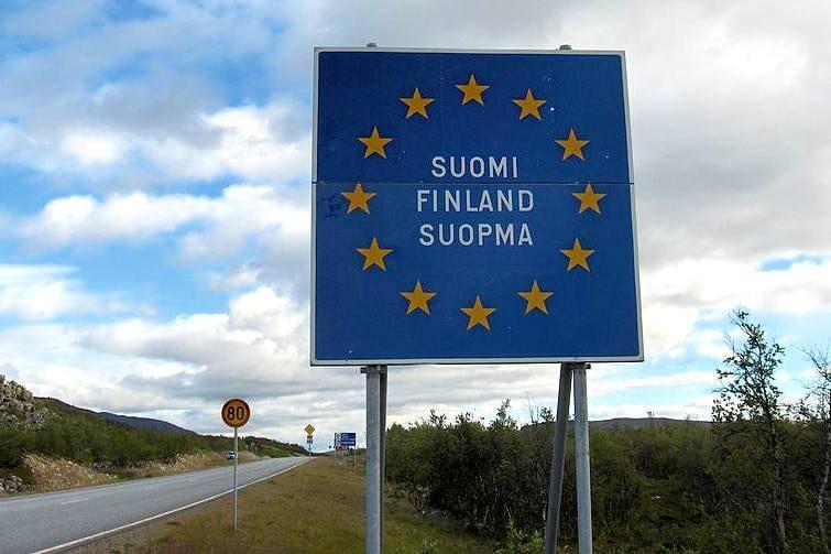 Frontière Finlande