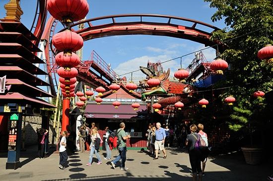Parc du Tivoli - Roller Coaster