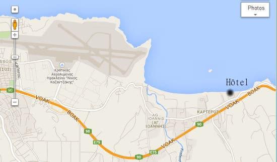 Map hotel cr te news voyageur for Hotel en solde