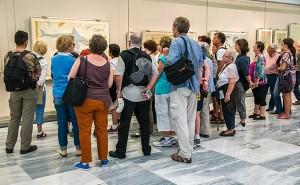 Crète - Groupe de touriste