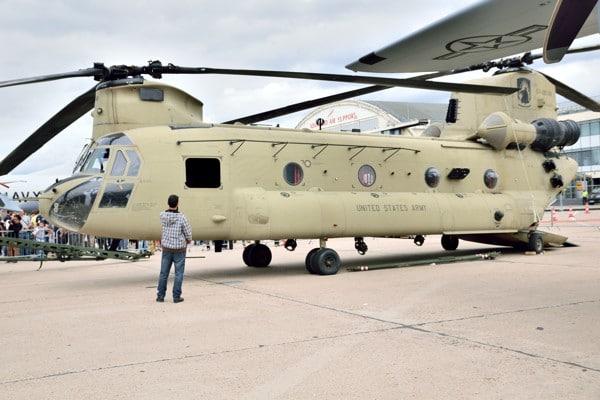 CH-47F CHINOOK