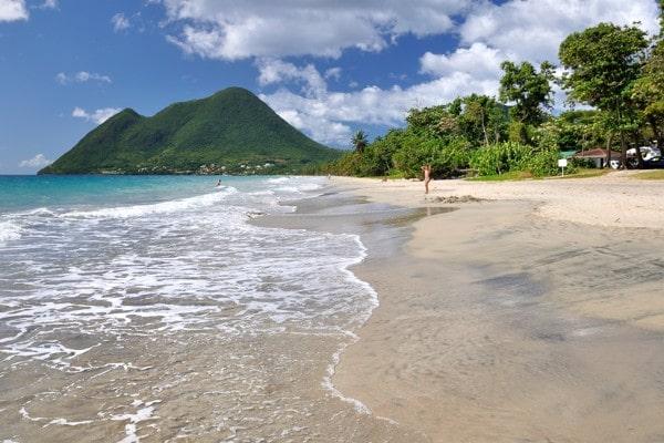 Ile de la Martinique - Plage du Diamant