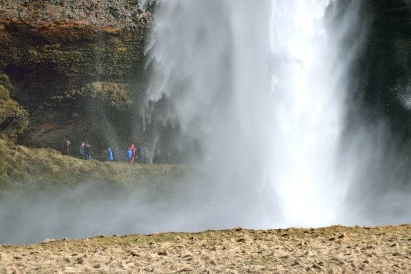 chute eau Seljalandsfoss