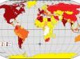 Carte - Pays visités