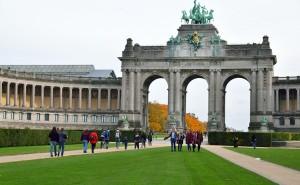Bruxelles - Arcades du Cinquantenaire