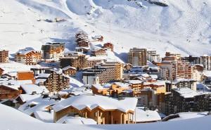 Val thorens sous la neige