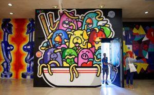 Graffiti REHAB - Sortie