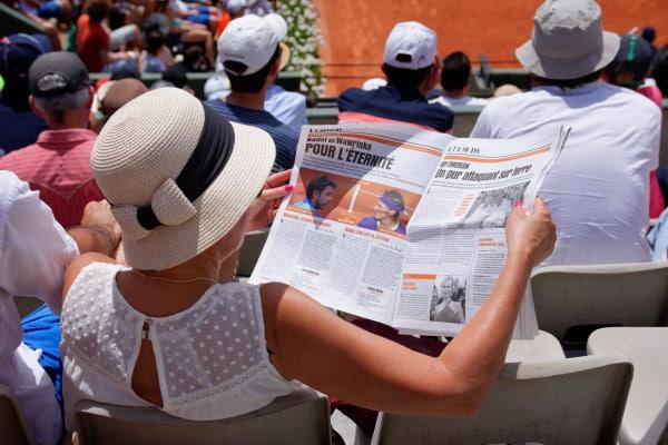 Roland Garros - programme finale