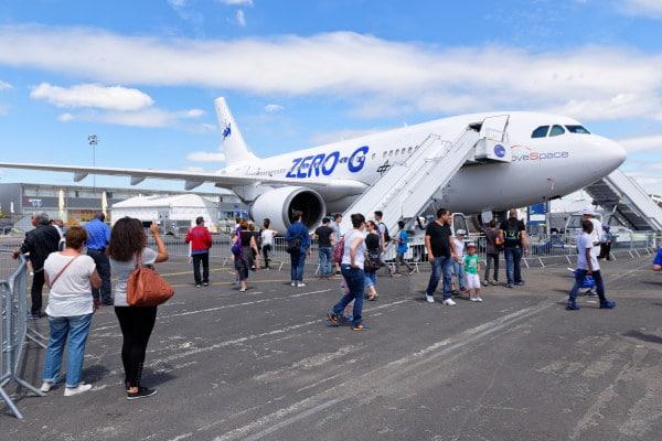 SIAE 2017 - Airbus zero G