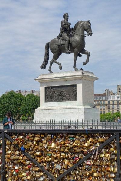 Statue Henri 4