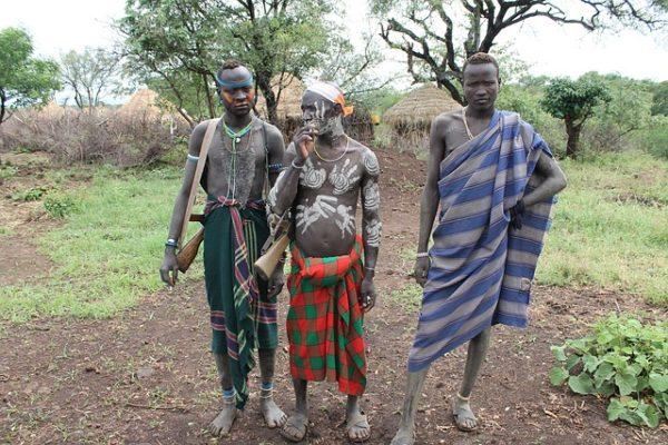 Ethiopie - Guerrier