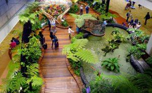 Aéroport Singapour jardin