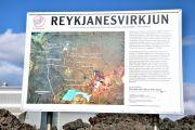 Islande - Panneau Reykjanesvirkjun