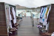 Islande - Serviette du Blue Lagoon