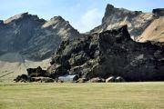 Islande - Maison dans la roche